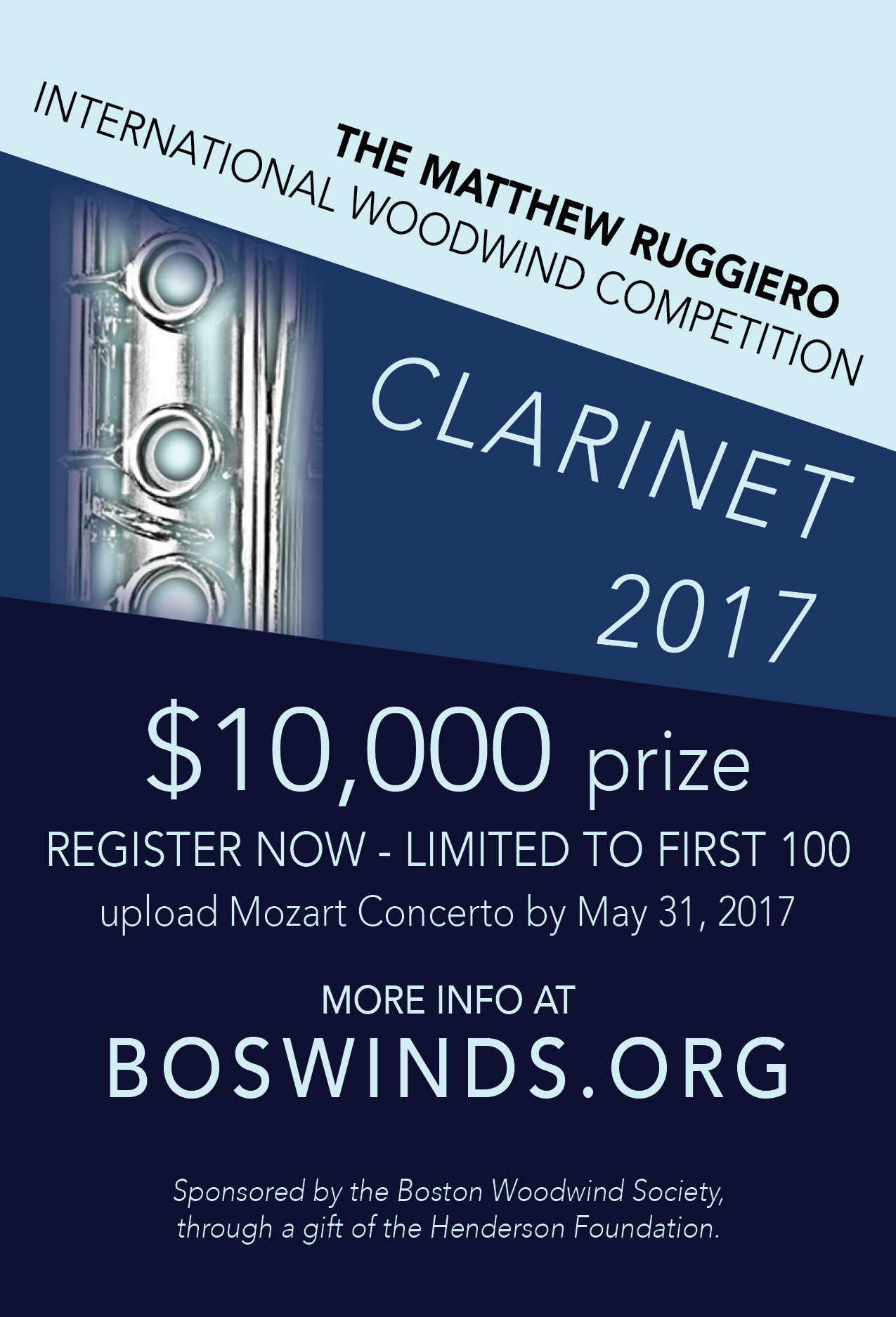 2017 Clarinet Competition